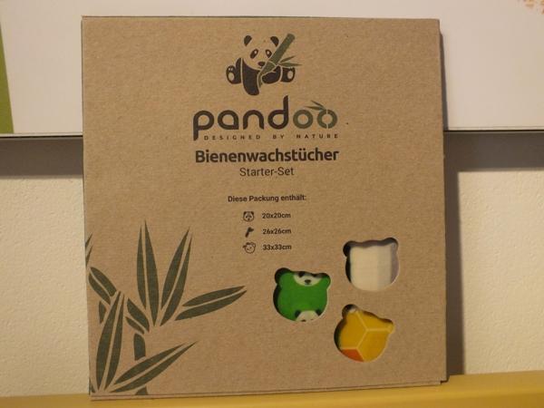 Pandoo-Produkte. Bienenwachstücher im Themenshop im MoorIZ Ahlenmoor